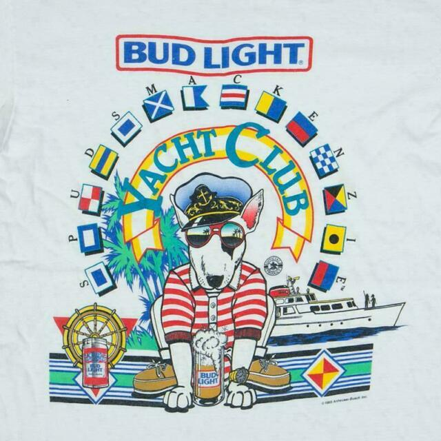 Vintage 80 Spuds MacKenzie Budweiser Deadstock Puffy Glasses T-Shirt Reprint New