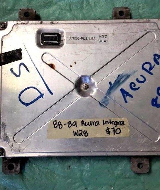 1988-1989 Acura Integra Ecm Ecu Computer 37820-PL2-L52 For
