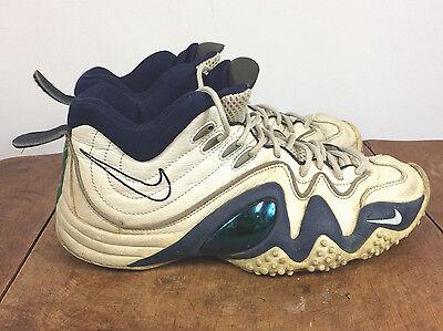 cueva Ministro hambruna  Original Vintage 90s Nike Air Flight Turbulence Jason Kidd Basketball Shoes  11.5 | eBay