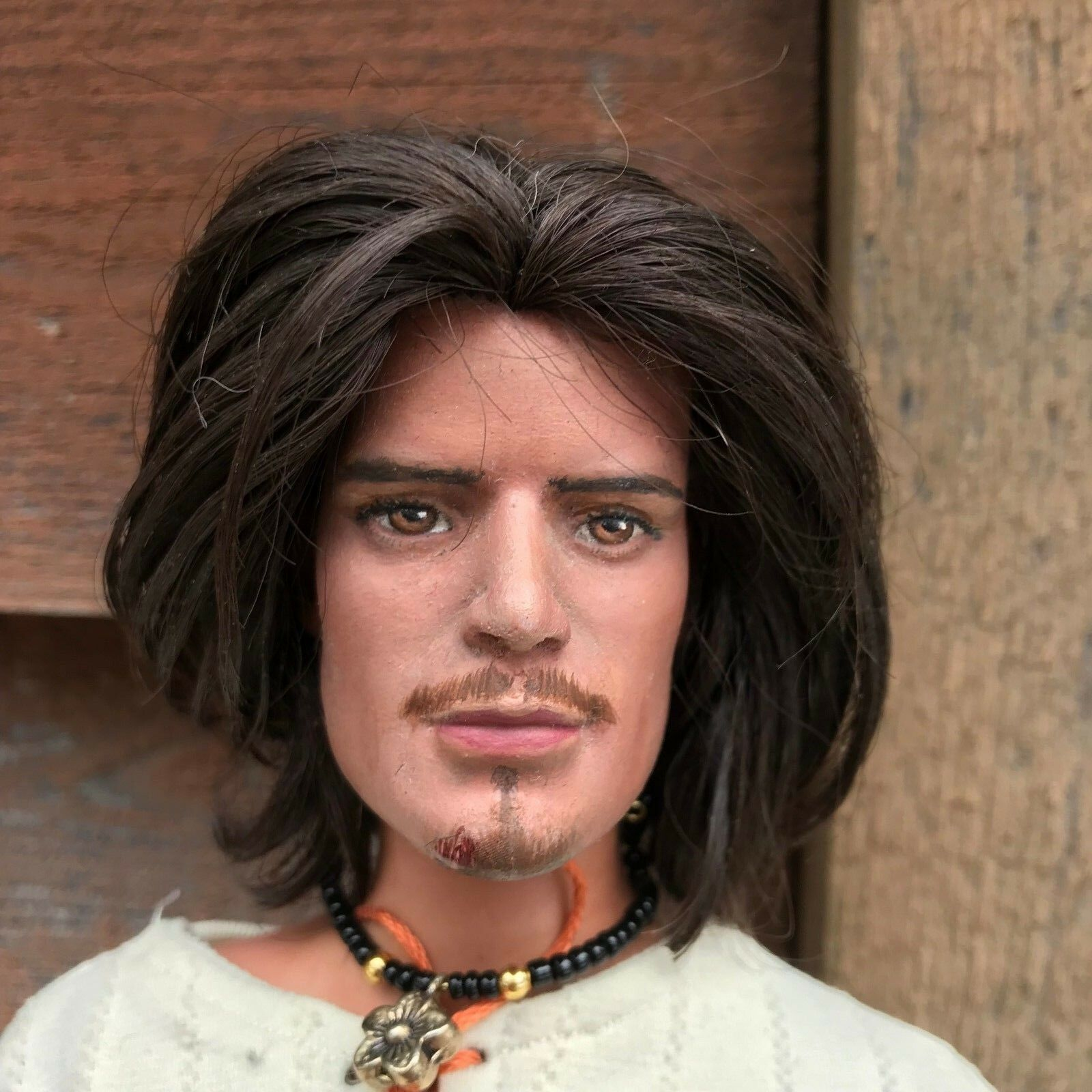 OOAK ORLANDO BLOOM REPAINT BY MARK ANTHONY TONNER CLOSED 2018 payments possible
