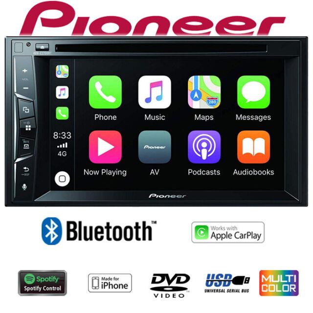 Pioneer AVH-Z2200BT - Bluetooth Apple Carplay Spotify CD/DVD Autoradio