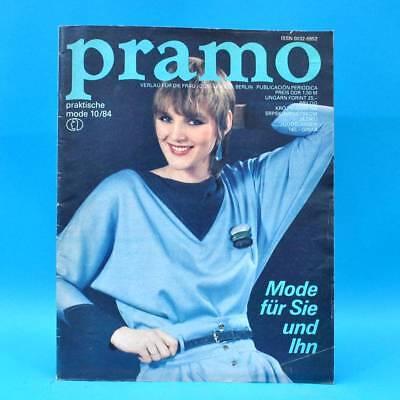 PüNktlich Ddr Pramo 10/1984 Praktische Mode Schnittmuster X Hochzeitsmode Kindermode Hosen