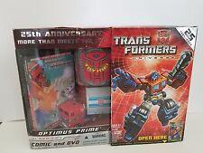 Hasbro Transformers 25th Anniversary Optimus Prime G1 Reissue Action Figure