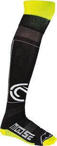 Moose Racing M1 Mens MX Offroad Knee Brace Socks Black