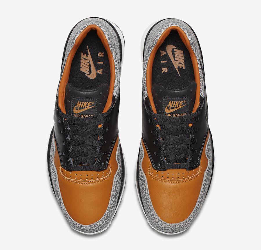 nike air safari - max größe 13.schwarzer könig orange.ao3295-001.air max - 1 bf6e3f
