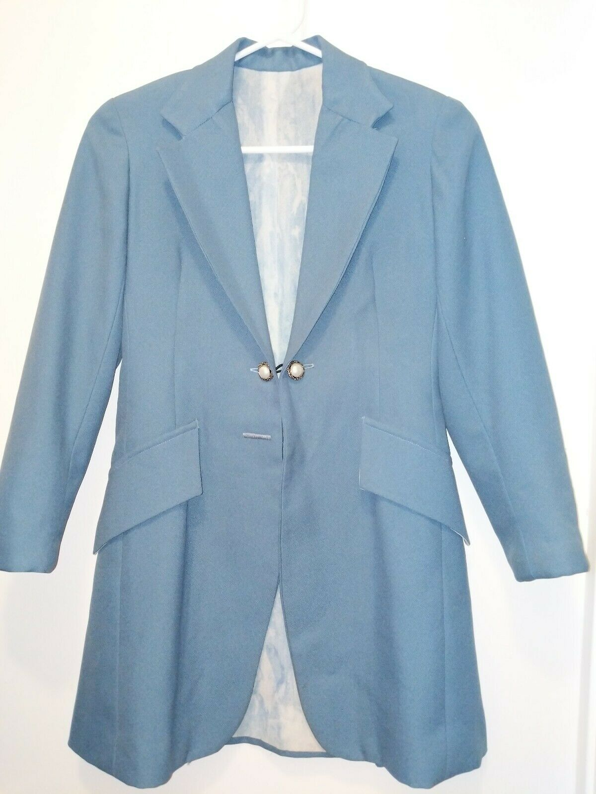 Saddleseat Youth  day coat bluee  here has the latest