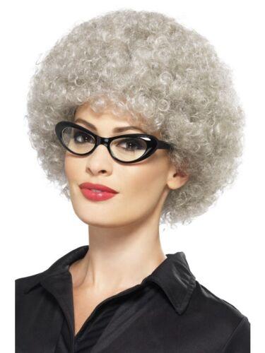 Gangsta Granny Curly Wig Fancy Dress Accessory Great For BookWeek