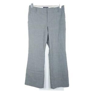 Banana-Republic-Womens-Size-6P-Pants-Trousers-215-Martin-Fit-Gray-Wool-Inseam-27