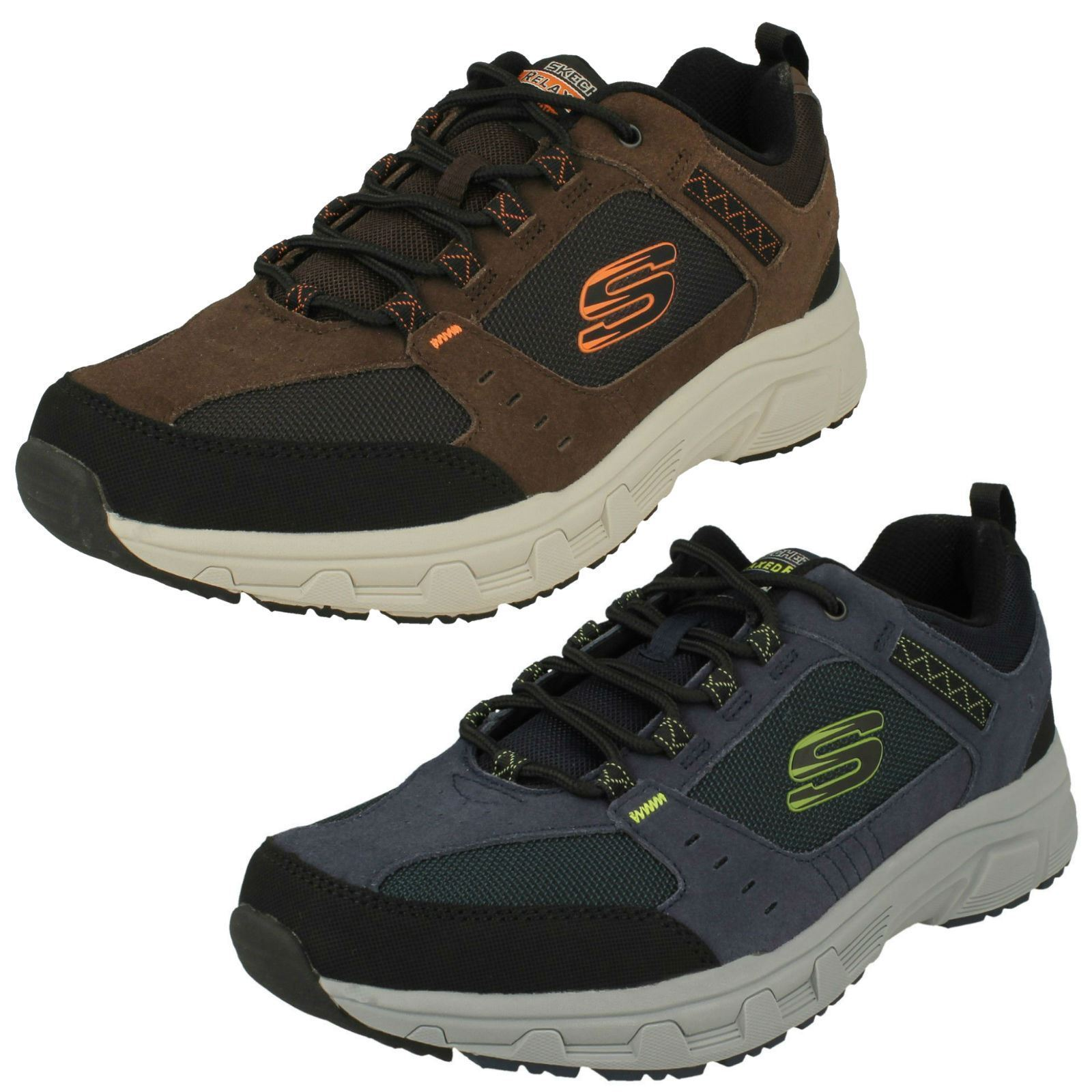 Mens Skechers Outdoor Oak Canyon 51893 Lace Up Trainers