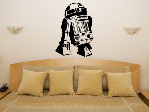 R2D2 Star Wars Robot Droid Wall Art Decal Sticker Picture Poster Decorate
