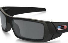1119d61ff9 ... discount item 1 new oakley si gascan matte black w usa flag grey lens  sunglass 9014