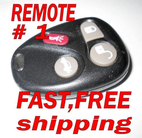 OEM CADILLAC CTS KEYLESS REMOTE ENTRY FOB  #1 TRANSMITTER CLICKER 12223130-50