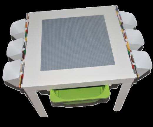 Lego Table de jeu, lego plaque, Conservation Box Blanc ou Vert Nouveau
