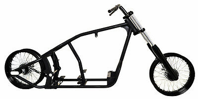 180 WIDE ROLLING CHASSIS BOBBER FRAME WIDEGLIDE FIT HARLEY SOFTAIL EVO ENGINE