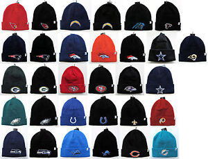 NFL Teams On Field Colors Cuffed Beanie Knit Winter Cap Hat ... e5a777421ef