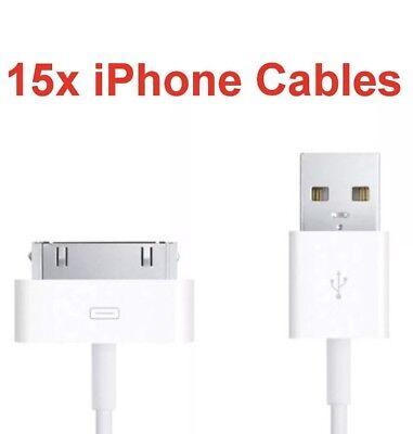 15x Câble De Chargeur Transfert De Données USB Plomb Pour Apple iPad 3 2 1, iPhone 4 s 4 4 G, iPod | eBay