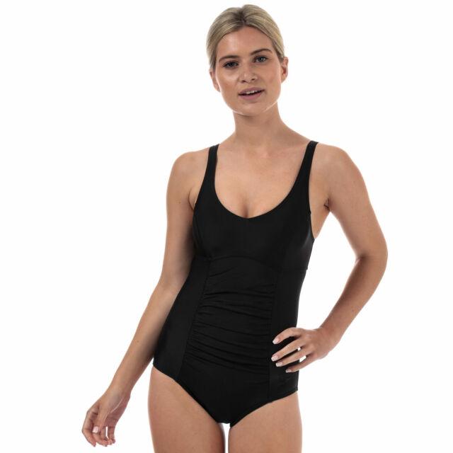 55641d0454b Speedo Women Vivienne Clipback Swimsuit Black 40/xl for sale online ...