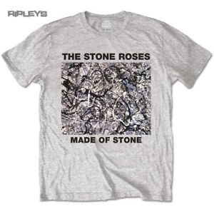 Official-T-Shirt-The-Stone-Roses-Original-Vintage-Cover-Made-of-Stone-All-Sizes
