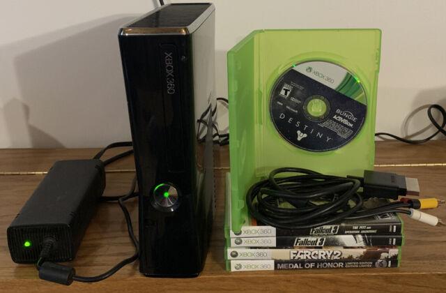 Microsoft Xbox 360 S Model 1439 250GB Black Console-idmi ...