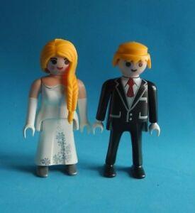playmobil bride & groom wedding novio y novia boda