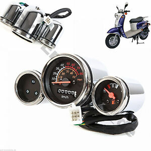SDOMETER GY6 CHINESE SCOOTER RETRO MADDOG BMS ROKETA TANK ... on