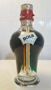 Glas Flasche Kurzhals grün Ölflasche 0,35 Ltr.