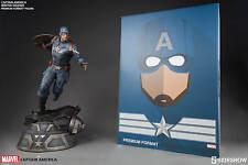 Sideshow Exclusive Captain America Winter Soldier Premium Figure Statue LTD 750