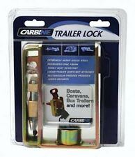 Trailer Coupling Lock With Padlock-Caravan, Trailer, Boat-LQQK!