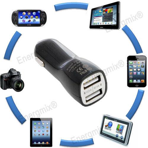 Dual Port 2.0 a Auto Voiture USB Adaptateur De Charge Chargeur 12 V 24 V 5 V iPhone Samsung
