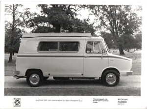 BL Leyland Sherpa 240 Van Conversion Auto Sleepers original Press Photo 250958