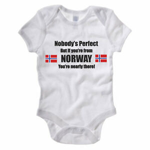 NOBODY PERFECT BUT IF YOU039RE FROM NORWAY  Norwegian Themed Baby GrowRomper - <span itemprop='availableAtOrFrom'>Filey, North Yorkshire, United Kingdom</span> - Returning Items for Refund The following guidelines must be followed to exercise the right to return or exchange items ordered from The Classic Image Company. All returned  - <span itemprop='availableAtOrFrom'>Filey, North Yorkshire, United Kingdom</span>