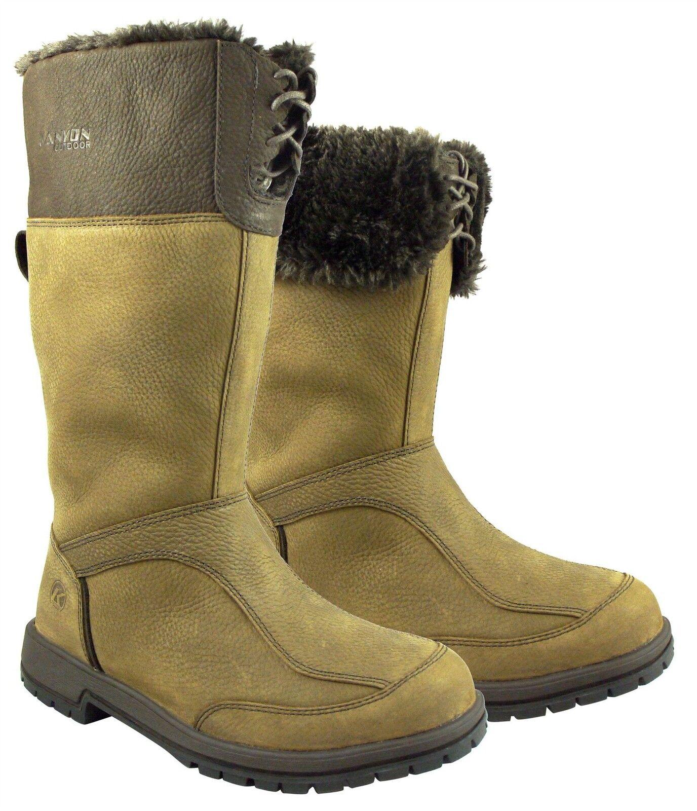 Señoras Kanyon Aliso Mid país botas Impermeable Equitación Patio botas Mucker