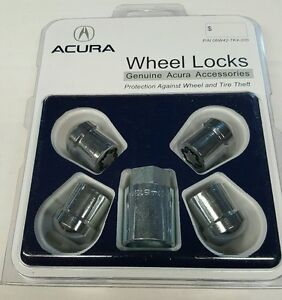 WTK OEM ACURA WHEEL LOCK KEY SET MDX RLX - Acura wheel lock key