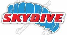 "Skydive Skydiving Parachuting Parachute Air Car Bumper Vinyl Sticker Decal 6""X3"""