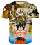 New-Women-Men-Dragon-Ball-Z-Vegeta-Goku-Super-Saiyan-Print-Casual-3D-T-Shirt-Tee thumbnail 27