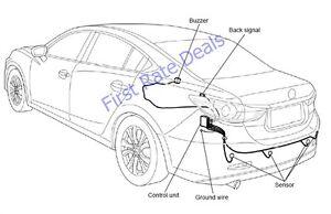 Mazda CV Rear Parking Sensor Kit Mazda Alarm - Mazda 290