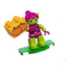 LEGO - Duplo Figure Super Heroes - Green Goblin w/ Glider & Pumpkins - NEW