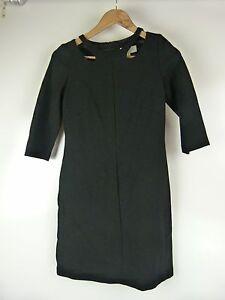 VERONIKA-MAINE-Pencil-dress-Sz-6-Black-Work-office-event