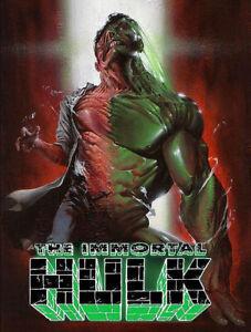 IMMORTAL-HULK-17-Gabriele-Dell-039-Otto-Variant-Marvel-1st-Print-NM-Ltd-To-3000