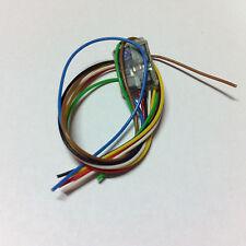 ZIMO MX681 Funktionsdecoder mit Kabel 6 Funktionsausgänge L=12 B=8 H=2 mm DCC MM