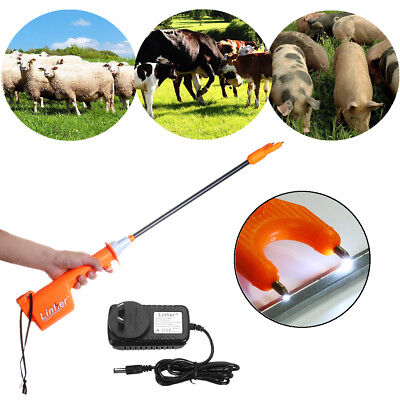 65cm Electric Rechargeable Livestock Cattle Pig Prod Animal Stock Prodder Farm