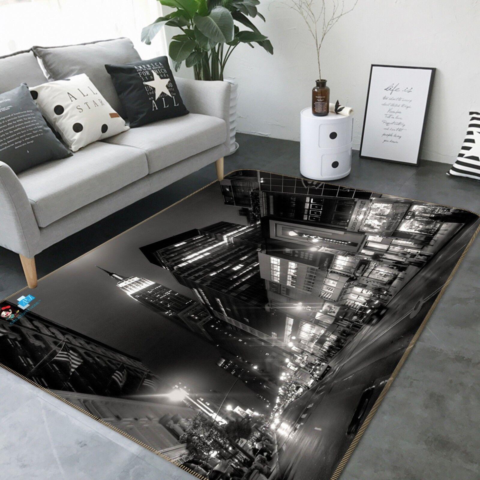 3d New York 313 antideslizante alfombra de maletero calidad elegante alfombra de
