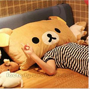 Rilakkuma-Relax-Bear-San-X-Plush-Brown-Pillow-Case-95-38cm-plush-soft-toys-gifts