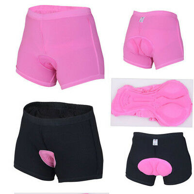 Women Bicycle Bike Underwear Pants Cycling Shorts with  Silica Gel 3D Padded