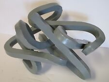 MID CENTURY TWISTED BENT METAL ROD SCULPTURE ARP STYLE ABSTRACT EXPRESSIONISM