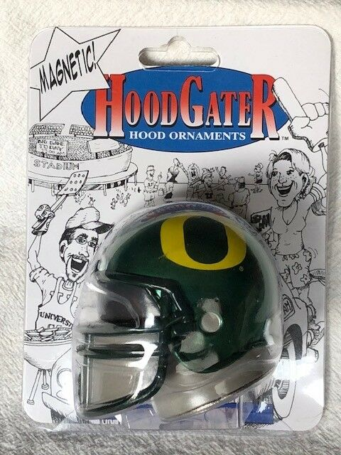 Oregon Ducks 12 Helmet Car Magnet
