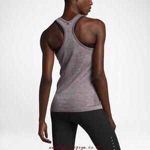 a52f29596 Women's Nike Vest Top Dri Fit Knit Tank Training Gym SportsWear Size ...