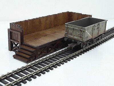 OO Gauge Model Railway MDF Laser Cut Industrial Unit
