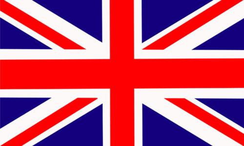 Feuille de 21 Peel Off Sticky Labels-British Drapeau National-Union Jack