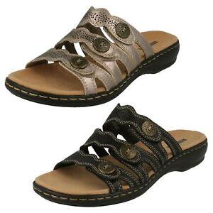 Clarks Damen Pantoffeln Sandalen Leisa Gnade       f40676